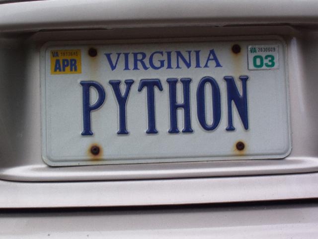 파이썬 번호판